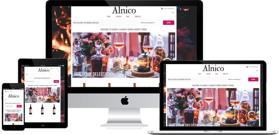 Alnico-Wine - Shopify Development