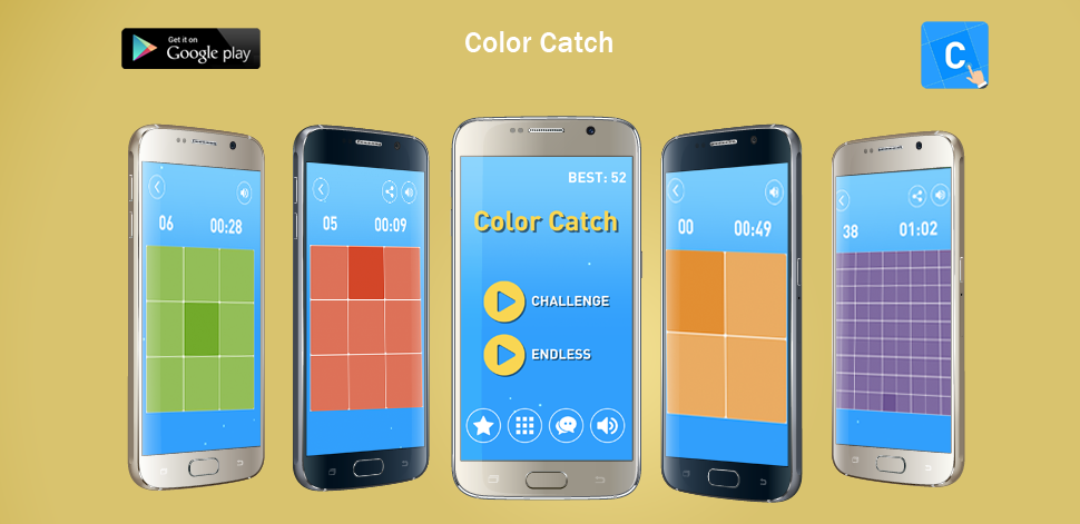 Color Catch Challenge - Android Development