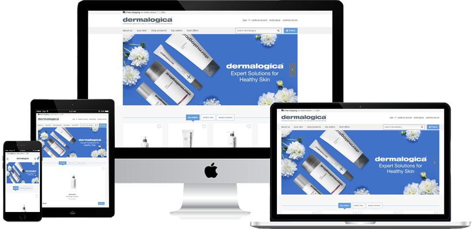 Dermalogica India - Shopify Development