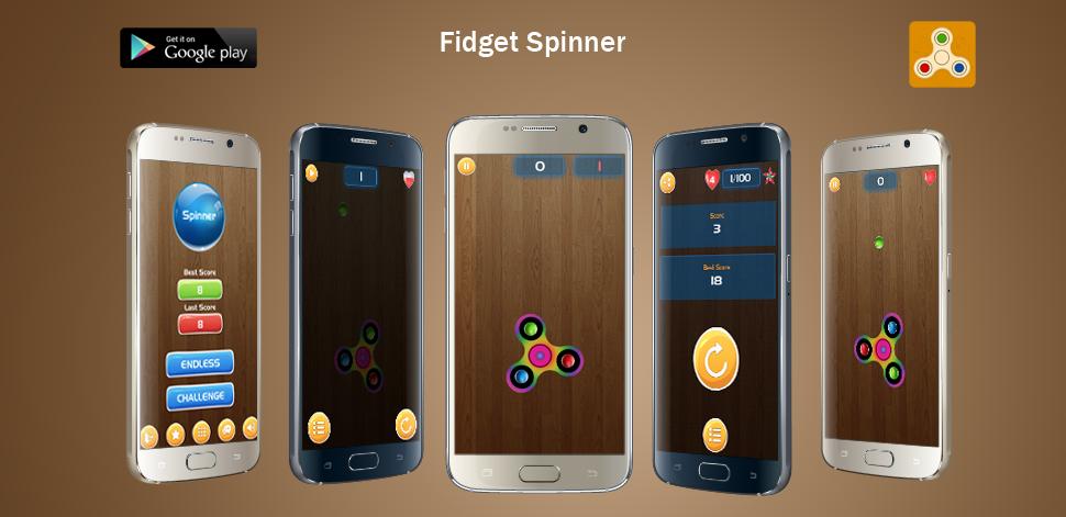 Fidget Spinner - Android Development