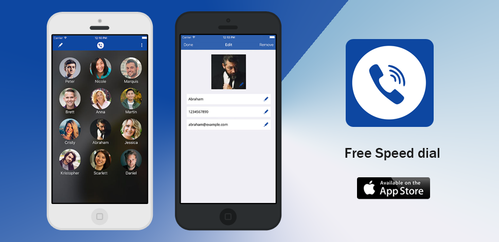Free Speed Dial - IPhone Development
