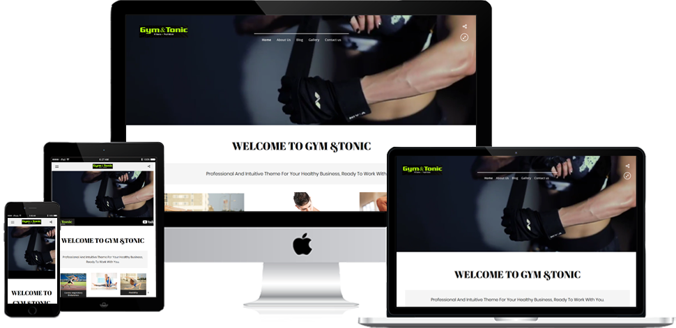 Gym & Tonic - Wordpress Development