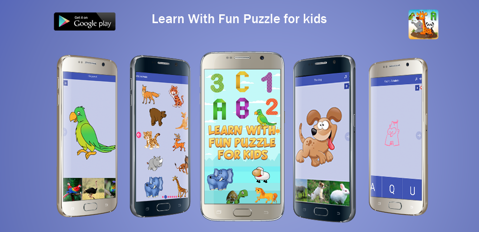 Learn With Fun Puzzle For Kids - Android Development