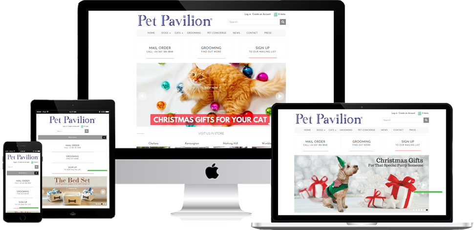 Pet Pavilion - Shopify Development