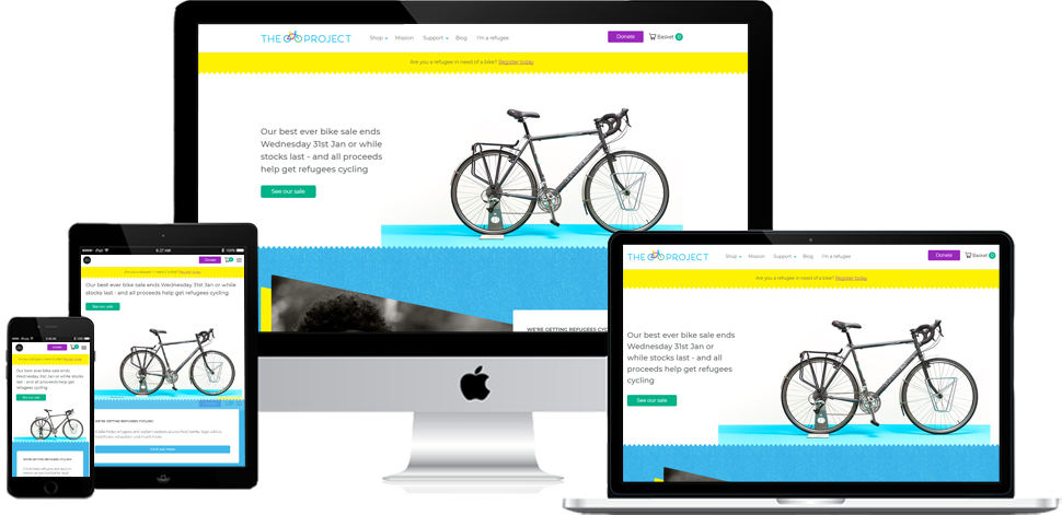 The Bike Project - Shopify Development