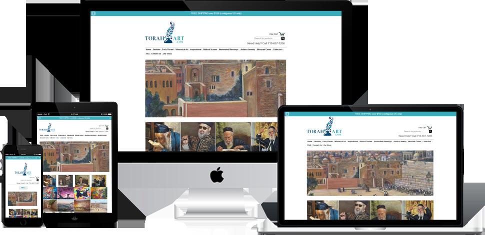 Torah Art - Wordpress Development