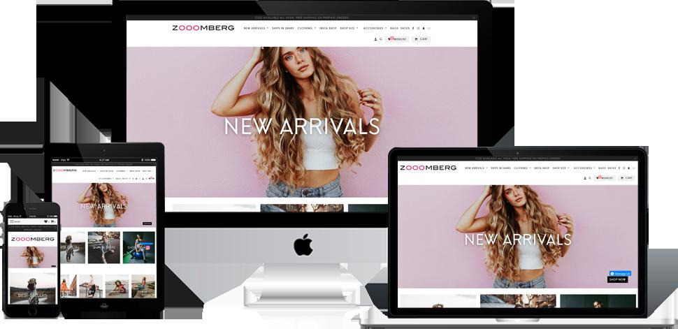 ZooomBerg - Shopify Development