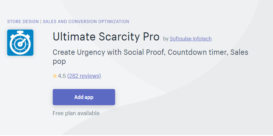 Black Friday 2019-Ultimate Scarcity Pro by Softpulse Infotech