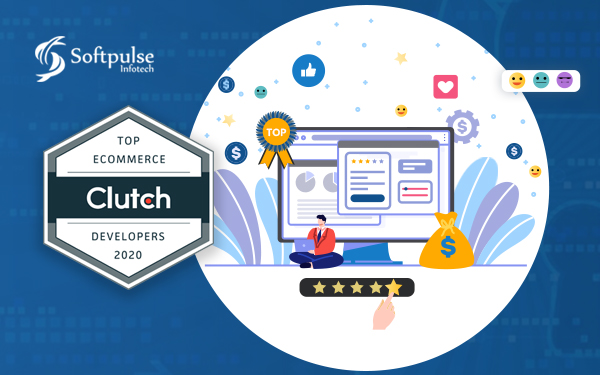Recognized as Top eCommerce Website Development Company by Clutch