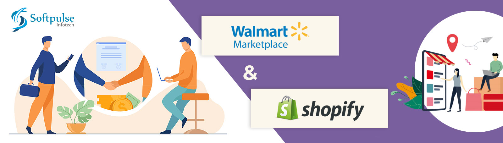 Walmart & Shopify Teams up together for Expanding their Marketplaces