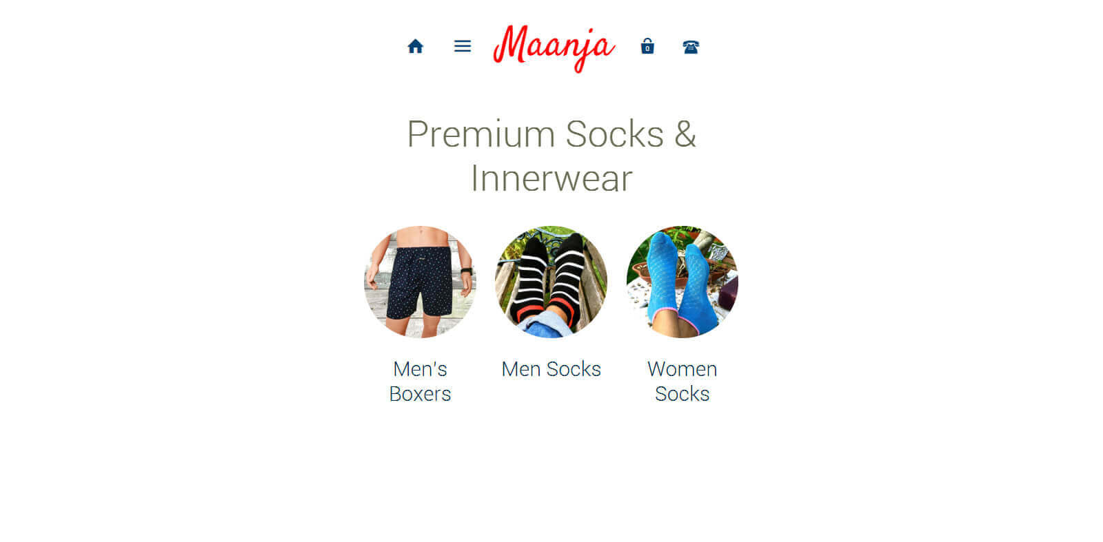 Maanja - Shopify Development